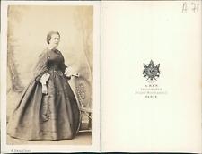 Ken, Paris, Madame de Boizonnière CDV vintage albumen Tirage albuminé  6
