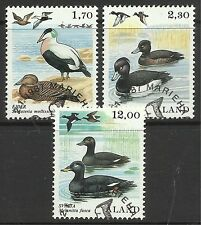 ALAND. 1987. Birds Set. SG: 25/27. Fine Used CTO.