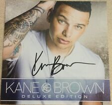 KANE BROWN 2017 CD Deluxe Edition + 2016 CD Regular Autographed SIGNED!!