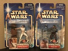 """Star Wars-Episode 2 """"Attack Of The Clones"""" New/HTF set of 16 Action Figures !!!"""