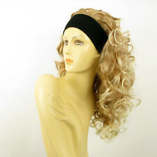 headband wig long curly  light blonde blond copper wick clear ODESSA 27T613