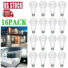 16 Pack LED Light Bulbs 15W Replacement Lamp Daylight A19 Dimmable E26 Home Room