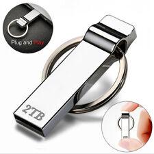 Keychain USB Flash Drives 2TB 2T Pen Drive Flash Memory USB Stick U Disk Storage