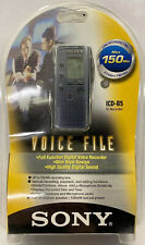 Sony ICD-B5 Voice File Recorder Handheld 150min New Sealed