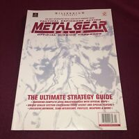EX COND Metal Gear Solid Official Mission Handbook ULTIMATE STRATEGY GUIDE PS1
