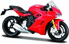 Maisto 17040 - Ducati Supersport S Red 1/18 Scale Bike - Tracked 48 Post
