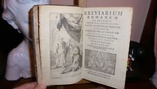 BREVIARIUM ROMANUM  EX DECRETO SACROSANCTI CONCILII  TRIDENTINI... 1775