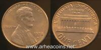 United States, 1978-D One Cent, Lincoln Memorial - Uncirculated