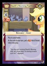 MY LITTLE PONY CCG MLP MARKS IN TIME :Hearth's Warming Traditions 100R X 3