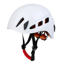 Pro Safety Helmet Climbing Caving Rappelling Abseiling Hard Hat White
