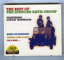 SPENCER DAVIS GROUP CD (NEW) THE BEST OF SPENCER DAVIS GROUP