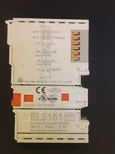 Beckhoff EL5151 - Incremental Encoder Interface 32 Bit 24VDC.
