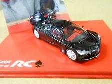 PEUGEOT RC CONCEPT CAR, BLACK/PIQUE, NOREV 1/43