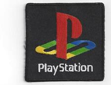 PLAY STATION LOGO IRON ON PATCH  BUY 2 WE SEND THREE