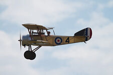1/9 Scale British Ww-I Sopwith Pup Biplane Plans, Templates & Instructions 35ws