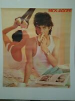 Mick Jagger She's the Boss 30X34 Rolling Stones Original Promo Poster 1985