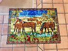 Vintage Velvet 70's Horse Ranch Tapestry (Bohemian) Smoke Free Home