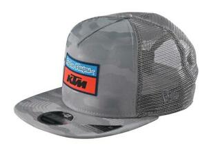 KTM TLD Team Snapback Camo Gray Hat