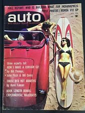 Auto & Motor Sport Illustrated May 1964 Vintage Automotive Magazine