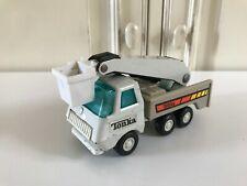 ☺ Ancien Petit Véhicule Voiture Camion Élévateur Grue Avec Nacelle Tonka Vintage