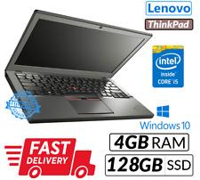 Fast Laptop Lenovo Thinkpad X240 12.5'' Intel Core i5-4300U 4GB 128GB SSD Win 10