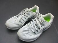 Nike Size 7 Boys Gray Nylon Athletic Zoom All Out Running Sneaker Shoes 2F