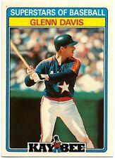 ⚾️ 1987 ~ Kay-Bee #12 ~ Glenn Davis ~ Houston Astros ~ ExMt=6