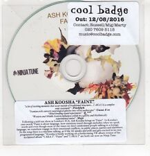(HF763) Ash Koosha, Faint - 2016 DJ CD