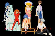 Bandai EVA Evangelion figure Gainax 2004 gashapon (full set of 6 figures)