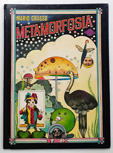 METAMORFOSIA, Mario Grasso, Pop-Art Bilderbuch deutschspr. 1. Auflg. 1976 Sphinx