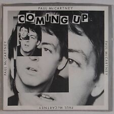 PAUL McCARTNEY: Coming Up PS & 45 Beauty USA Wings Beatles NM-