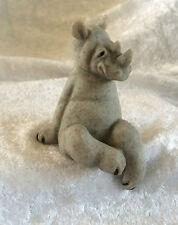 Quarry Critters Ricco..Shelf Sitting Rhino Figurine..BNIB