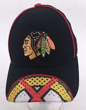 Chicago Blackhawks Black Snapback Hat Boys Girls