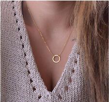 Fashion Charm Jewelry Pendant Chain  Plated Gold Choker Statement Necklace 11