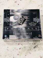 2000 Upper Deck SPX Football Sealed Hobby Box 18 Packs - Tom Brady SP?! Goat 🐐