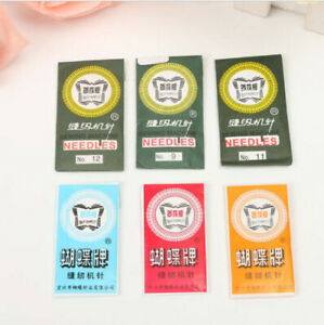 10/50/80pcs Home Sewing Machine Needles 8/11/12/14/16/18/19/20/21 For Singer