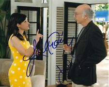 JULIA LOUIS-DREYFUS & LARRY DAVID signed autographed CURB YOUR ENTHUSIASM photo