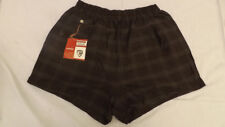 Vtg 60s NOS McGregor Plaid Swim Suit sz 44 Board Trunks NEW AUTOMATEK Boxers