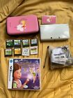 Nintendo 3DS White. With case, games, and SD card.
