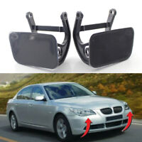 For BMW E60 5 Series 2004-2010 Car Front Bumper Headlight Washer Cap Cover