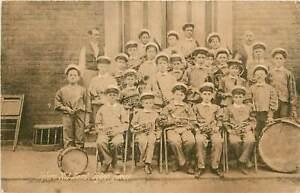 Texas, TX, Tyler, Tylers Kid Band 1908 Postcard