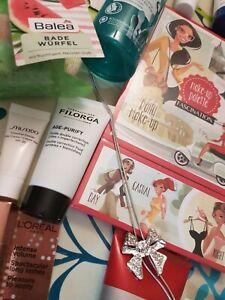 Glossy Box bunt gemischtes Beauty Paket Schminke mit vielen  Proben