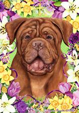 Easter Garden Flag - Dogue de Bordeaux 339001