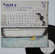 """Vinyle maxi Yazoo  """"Nobody's diary"""""""