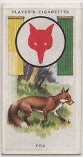 Common Fox Vulpes vulpes 1930s Ad Trade Card
