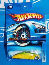 Hot Wheels 2006 Mainline #136 Swoop Coupe Green & Yellow w/ 5SPs & SKs