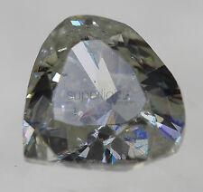 Certified .50 Carat F Colour Heart Shape Buy Loose Diamond 5.26x4.94MM Video#126