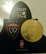 monnaie de paris rugby sport top 14 RCT TOULON TOULONNAIS 3 etoiles pièce dorée
