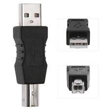 Adaptateur Convertisseur USB-A Mâle vers USB-B Mâle Imprimante Scanner - Qualité