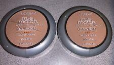 2 L'Oreal True Match Super-Blendable Pressed Powder Foundation: N5 - True Beige